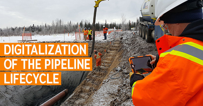 Digitalization of the Pipeline Lifecycle