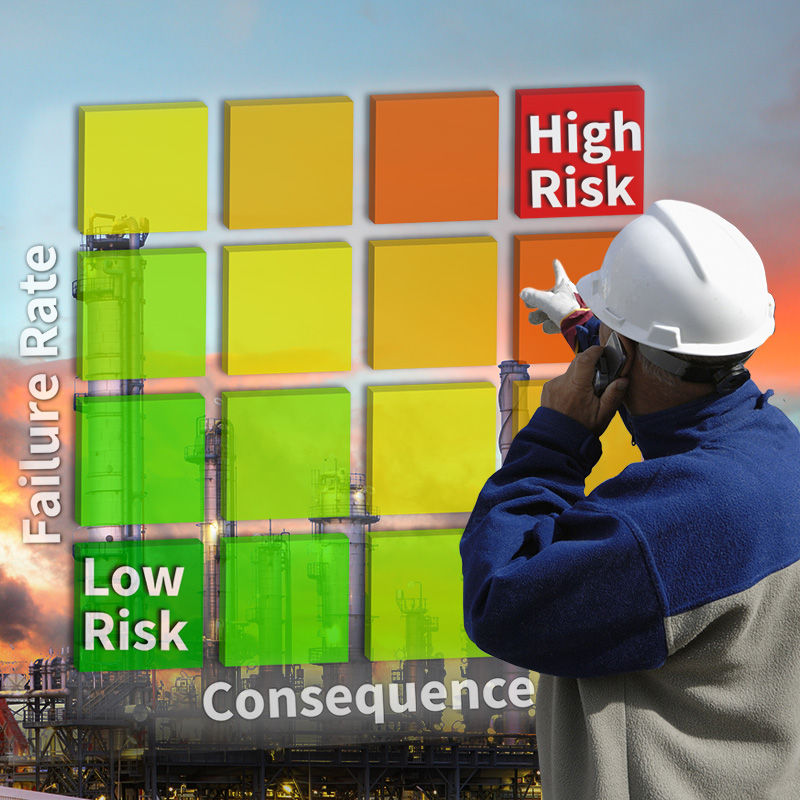 Risk Based Inspection matrix