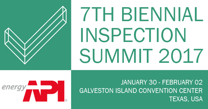 7th Biennial Inspection Summit 2017 - energyAPI