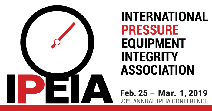 2019 International Pressue Equipment Integrity Association (IPEIA) Conference