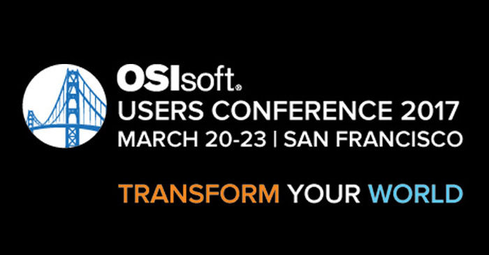 OSIsoft Users Conference 2017