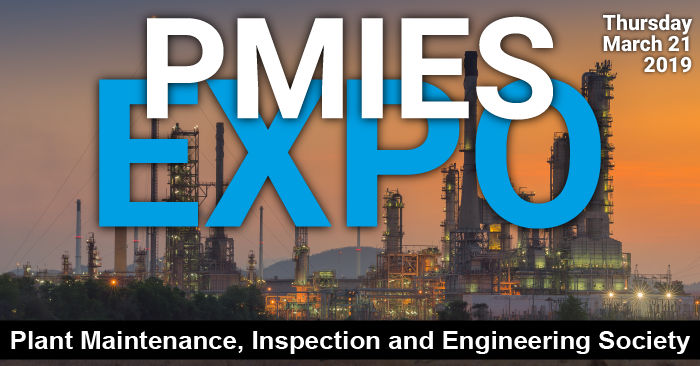 2019 Plant Maintenance, Inspection and Engineering Society (PMIES) Expo