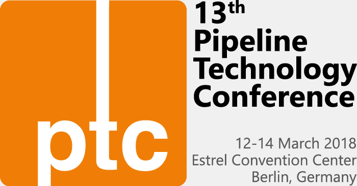 13th Pipeline Technology Conference (PTC). 12-14 March 2018, Estrel Convention Center, Berlin, Germany