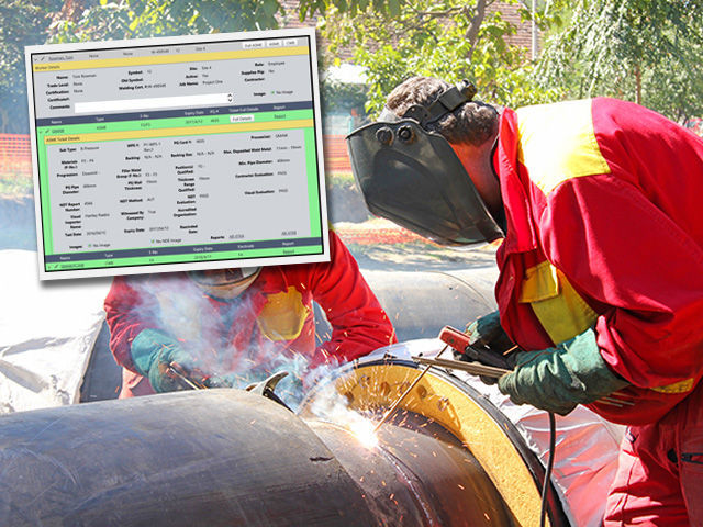 Welding Report Software